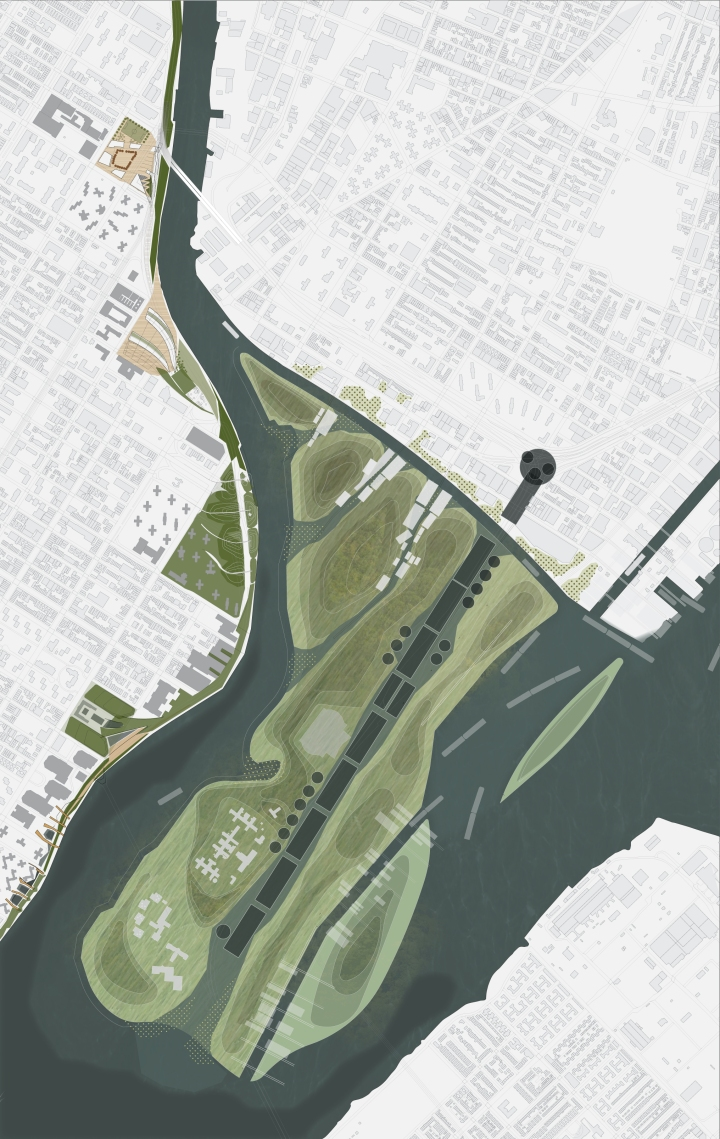 First semester project: A New Waterfront for East Harlem